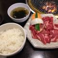 【西新宿ランチ】新宿アイランド「焼肉 李宮」でカルビ定食