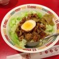 【西新宿ランチ】台湾料理店「山珍居」で魯肉飯。甘辛のタレが絶妙!