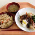 【西新宿ランチ】「東京都庁32階職員食堂」にて和定食。見晴らしのよい展望食堂!