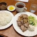 【西新宿ランチ】喫茶店「ロシュ」にてポークソテー。ポークソテーってどんな料理だったっけ?