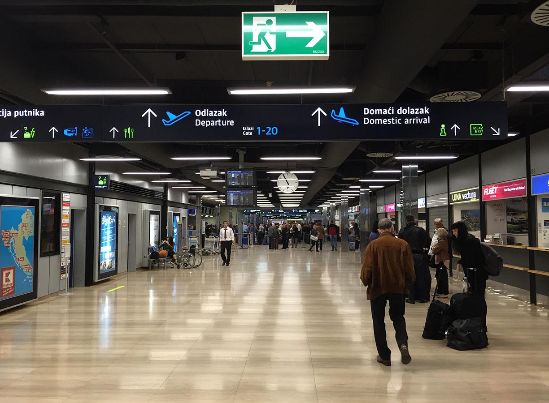 Images of クロアチアの空港の一...
