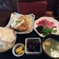 【西新宿ランチ】「しゅぞう」で鶏南蛮とわらさ刺の定食。小洒落ていて落ち着いたいいお店!だがご飯大盛りには注意。