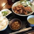 【西新宿ランチ】「鳥扇」でおろしポン酢の唐揚げ定食。クオリティ高し!
