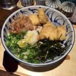 【閉店】【西新宿ランチ】「フィッシュメン(Fishmen)」でとり天ぶっかけうどん。なんだこの香りの良いうどんは!